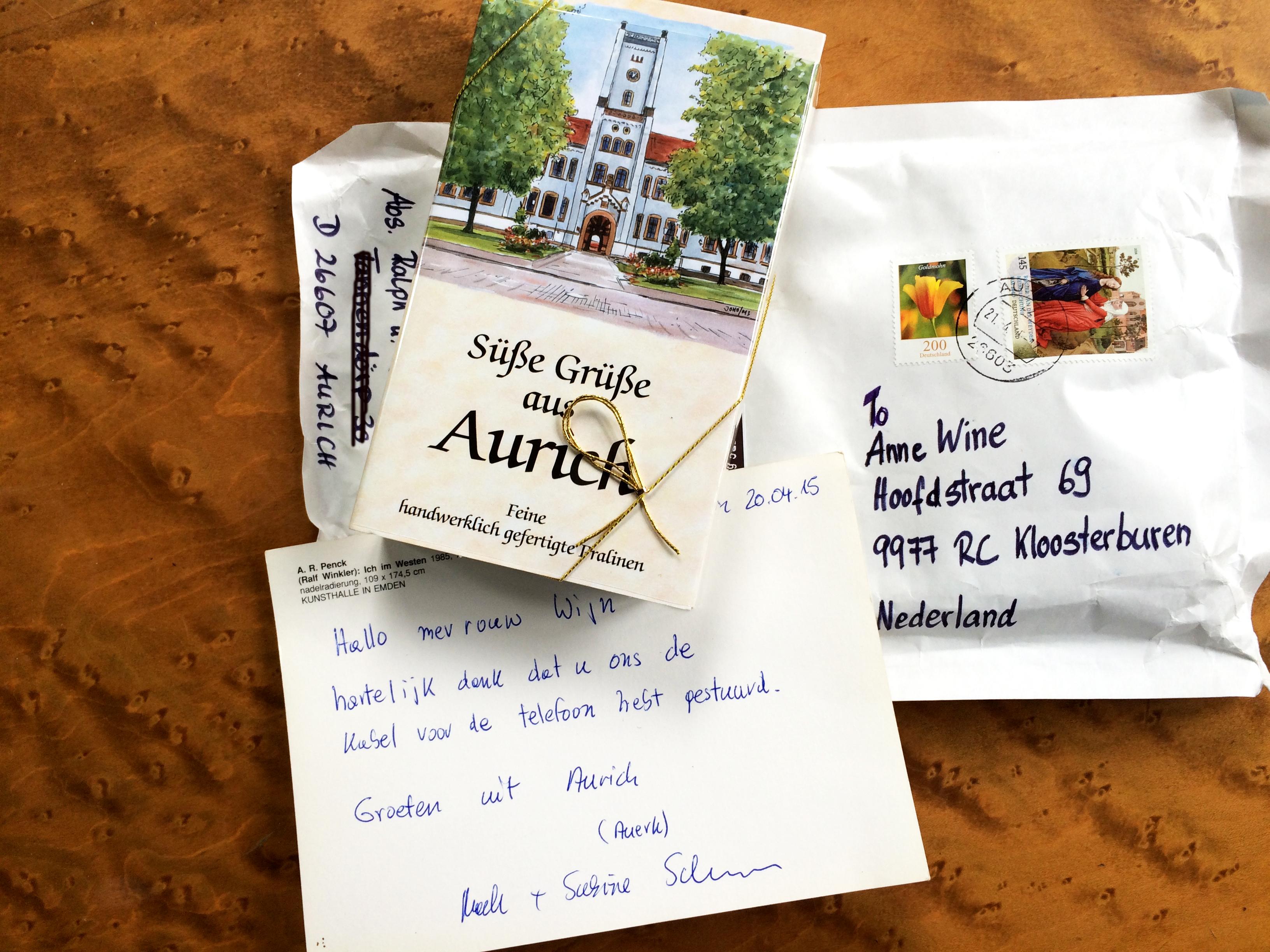 Bedank Uit Aurich